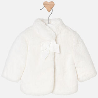 Baby Girls' [3-12M] Faux Fur Coat