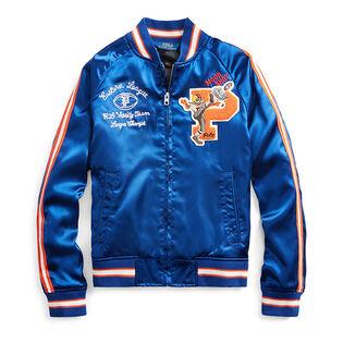 Boys' [5-7] Satin Souvenir Baseball Jacket