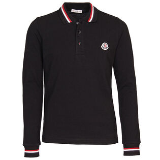 Boys' [4-6] Pique Long Sleeve Polo