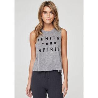 Women's Ignite Your Spirit Crop Tank Top