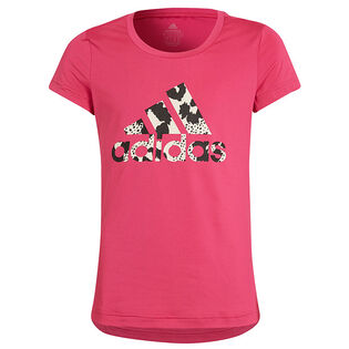Junior Girls' [8-16] Aeroready Animal Logo Print T-Shirt