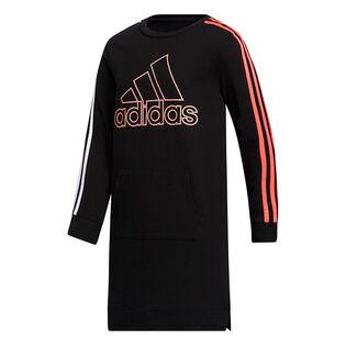 Junior Girls' [8-16] French Terry Stripe Dress