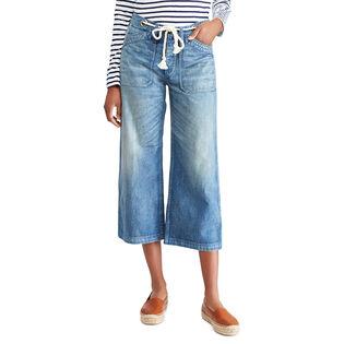 Women's Wide Leg Crop Jean