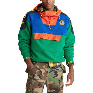 Men's Colourblocked Hybrid Hoodie