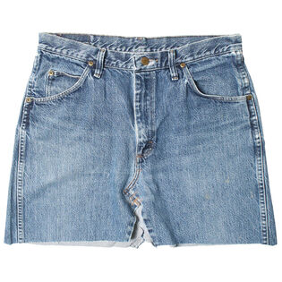 Women's Vintage Denim Skirt