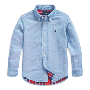 Boys' [5-7] Double-Faced Cotton Shirt