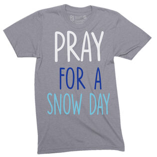 Kids' Pray For A Snow Day T-Shirt