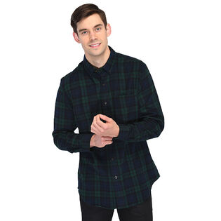 Men's Scotch Plaid Flannel Shirt