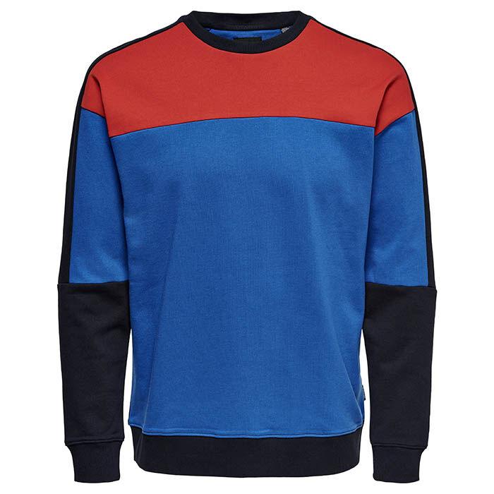 Men's Contrast Sweatshirt