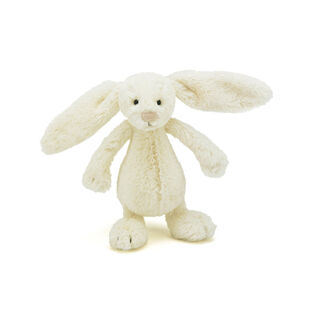 "Bashful Cream Bunny (7"")"