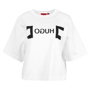 Women's Reverse Logo Crop T-Shirt