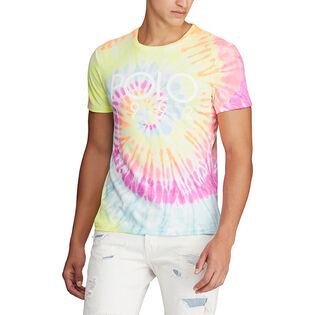 Men's Custom Slim Fit Tie-Dye T-Shirt