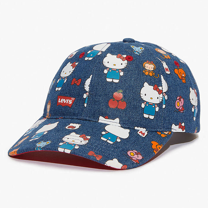 Casquette de baseball Hello Kitty pour femmes