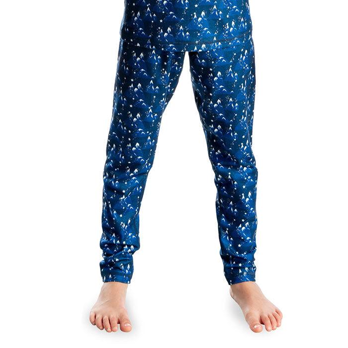 Pantalon en molleton imprimé unisexe pour juniors [1-8]