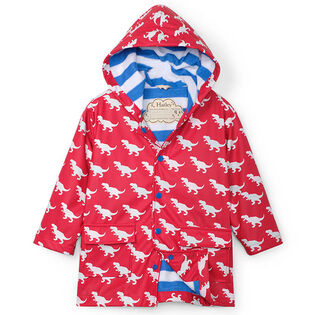 Boys' [2-6] T-Rex Colour Changing Rain Coat