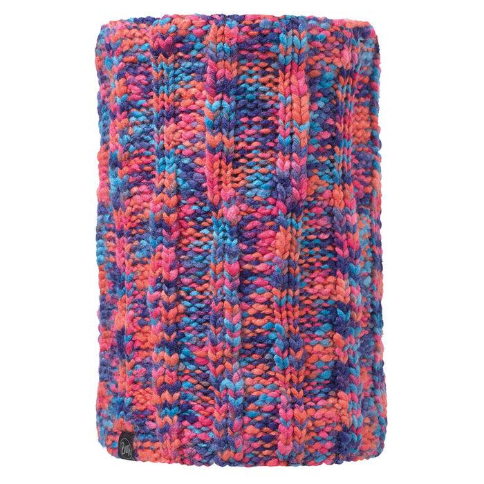 Cache-cou en tricot Orange Livy
