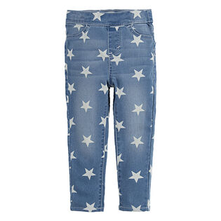 Girls' [2-4T] Star Print Jegging