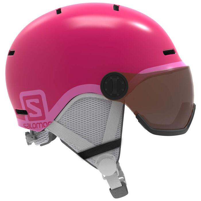 Juniors' Grom Visor Snow Helmet