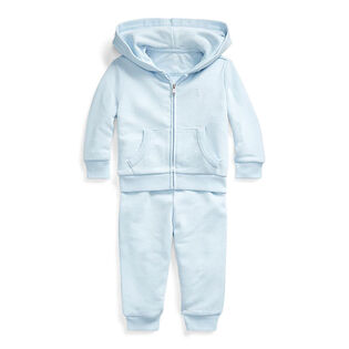 Baby Boys' [3-24M] French Terry Hoodie + Pant Two-Piece Set