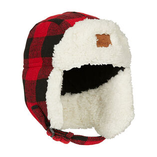 Juniors' [6-14] Hip Aviator Sherpa Hat