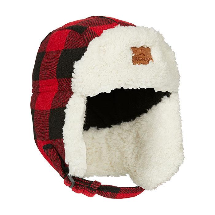 Juniors' [6-14] Hip Aviator Sherpa Hat
