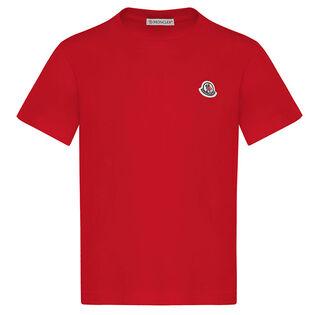 Juniors' [8-14] Logo Patch T-Shirt