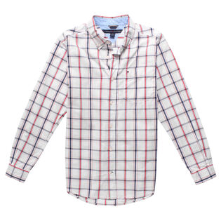 Junior Boys' [8-16] Plaid Shirt