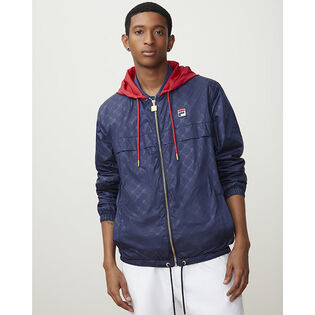 Men's Copper Hooded Full-Zip Jacket