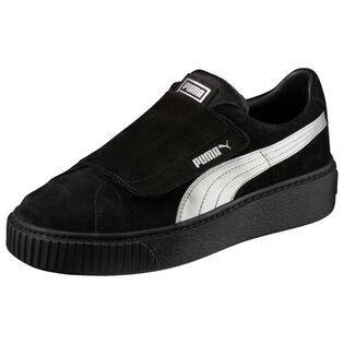 Women's Platform Strap Satin EP Sneaker