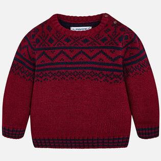 Baby Boys' [12-36M] Bavarian Jacquard Sweater
