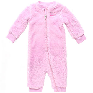 Baby Girls' [0-9M] Sherpa Coverall
