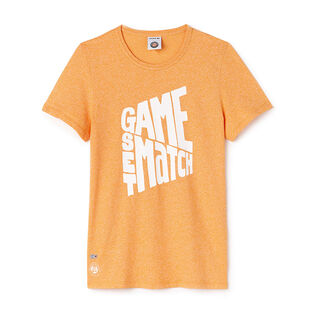 T-shirt Roland Garros Edition Game Set Match pour femmes
