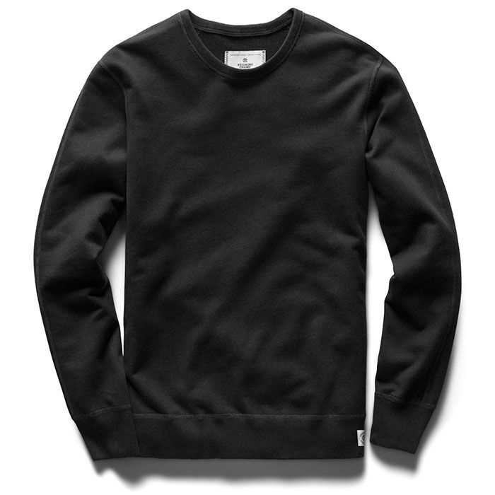 Men's Lightweight Terry Crew Sweatshirt
