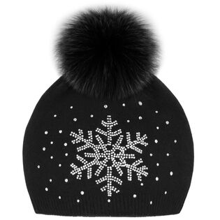 Tuque Snowflake Sparkle pour femmes