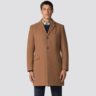 Men's Tailored Crombie Coat