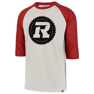 Men's Ottawa Redblacks Imprint Club Raglan 3/4 T-Shirt