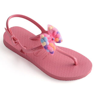 Juniors' [11-4] Freedom Slim Pompom Sandal
