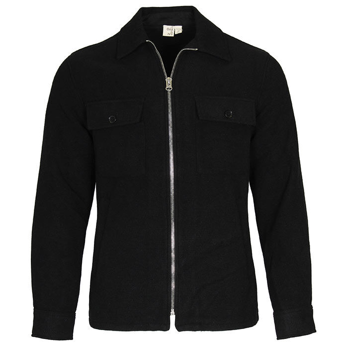 Men's Solid Zip Jacket