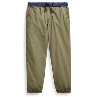 Pantalon de jogging en popeline de coton pour garçons [2-4]