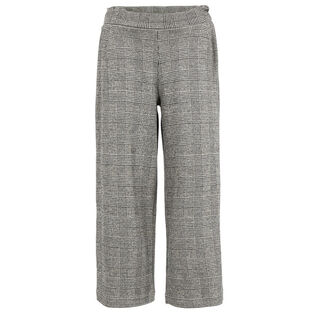 Junior Girls' [8-16] Checked Culotte