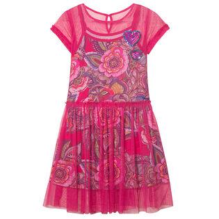 Junior Girls' [7-14] Tulle Overlay Dress