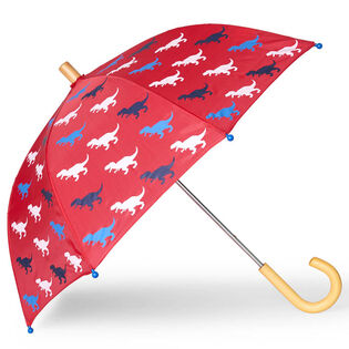 Kids' [2-10] T-Rex Silhouettes Umbrella