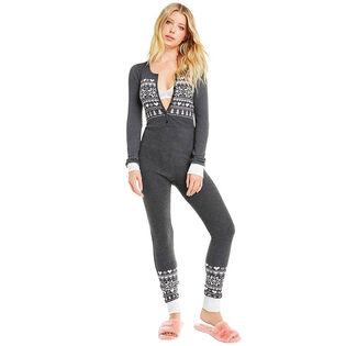 Women's Fair Isle Love Sleep-In Jumpsuit