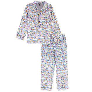 Men's Ski Holiday Two-Piece Pajama Set
