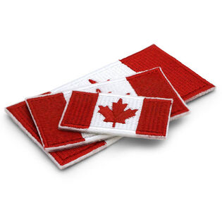 Canada Sew-On Flag Patch (3 Pack)