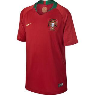Juniors' [7-20] 2018 Portugal Stadium Home Jersey