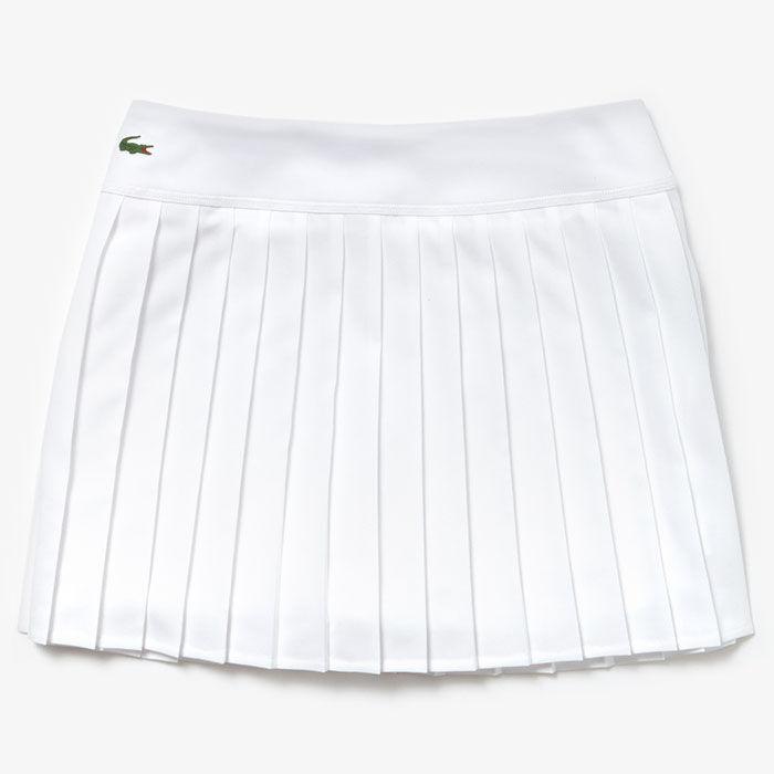 Women's Technical Mesh Pleated Skirt