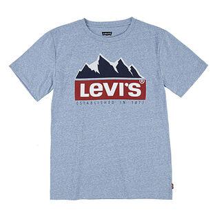 Junior Boys' [8-16] Mountain Logo T-Shirt
