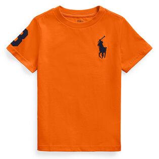 T-shirt Big Pony en jersey de coton pour garçons [2-4]