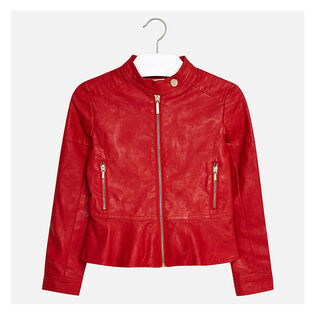 Junior Girls' [8-18] Leatherette Jacket